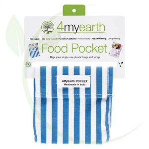4myearth food pocket denim stripe