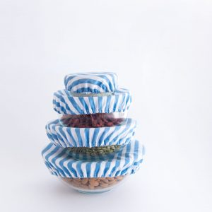 4my earth food cover set denim stripe