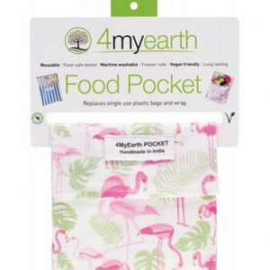 4myearth Food Pocket Flamingoes