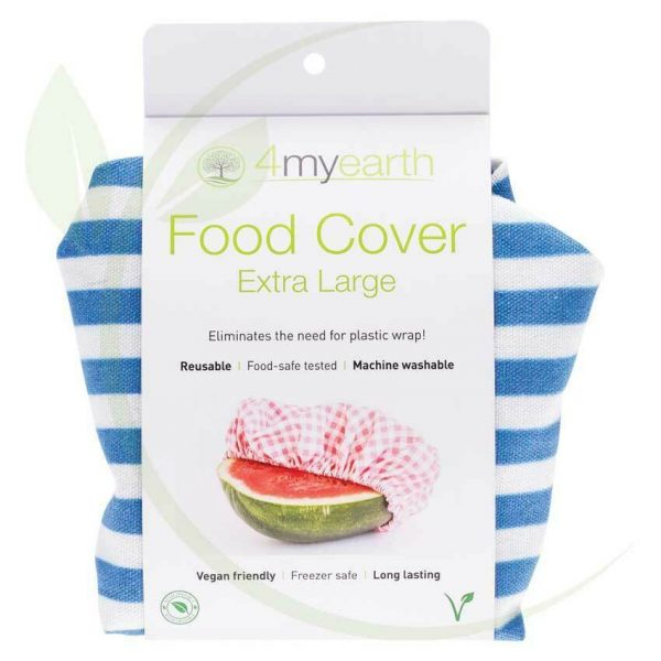 4my earth food cover XL Denim Stripe