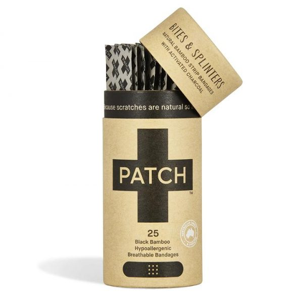 Patch Acivated Charcoal Bites and Splinters Bandages