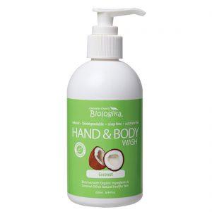 Biologika Organic Coconut Hand & Body Wash 250ml