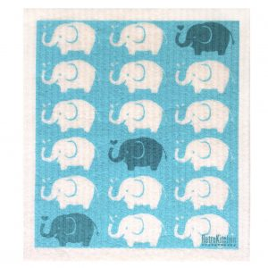 RetroKitchen Biodegradable kitchen sponge_elephants