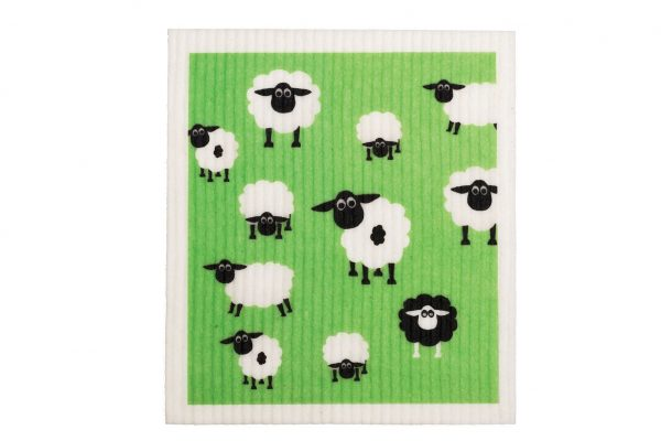 RetroKitchen_biodegradeable_dish_cloth_sheep