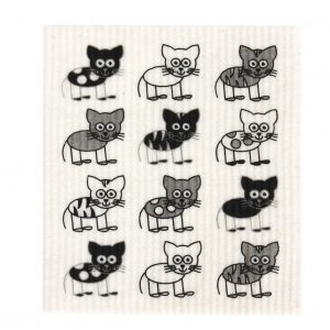 RetroKtichen_biodegradeable_dish_cloth_cat