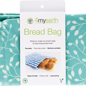 4myearth Bread Bag Leaf