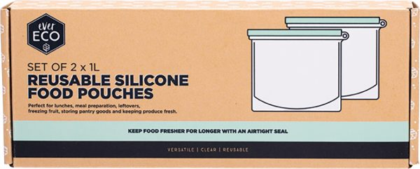 Ever Eco Silcone Food Pouches
