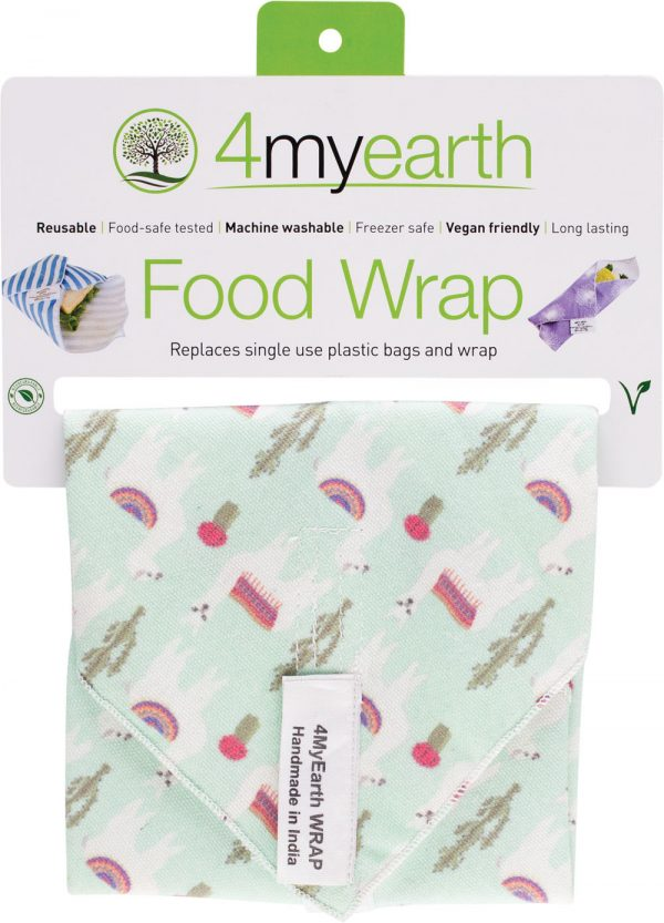4myearth food wrap llamas