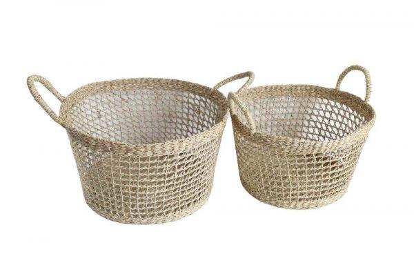 Seagrass Hamper Baskets