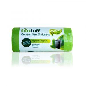 Biotuff general use bin liners
